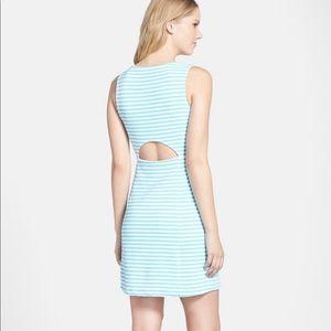 Lilly Pulitzer Whiting Strip Cutout Sheath Dress S